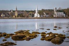 εκκλησίες τρία στοκ εικόνες