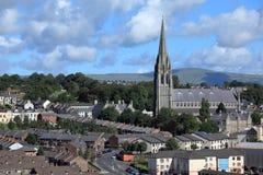Εκκλησίες Derry στη Βόρεια Ιρλανδία στοκ φωτογραφία