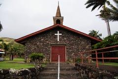 Εκκλησιαστική εκκλησία Waialua Στοκ Εικόνες