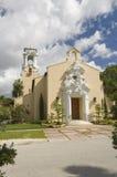 Εκκλησιαστική ενωμένη εκκλησία αετωμάτων κοραλλιών Χριστού Στοκ φωτογραφία με δικαίωμα ελεύθερης χρήσης
