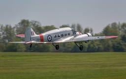 Εκλεκτής ποιότητας αεροσκάφη Anson Avro στοκ εικόνες