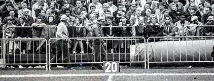1969 εκλεκτής ποιότητας ανεμιστήρες επιδρομέων του Όουκλαντ στοκ εικόνες