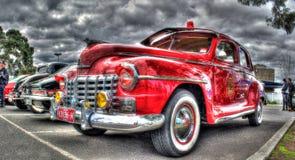 Εκλεκτής ποιότητας Αυστραλός έχτισε το αυτοκίνητο προϊσταμένων πυρκαγιάς τεχνάσματος της δεκαετίας του '40 Στοκ Εικόνα