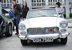 Εκλεκτής ποιότητας αυτοκίνητο MG Στοκ Εικόνα