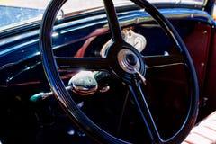 Εκλεκτής ποιότητας αυτοκινητικό εσωτερικό στοκ φωτογραφία