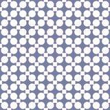 Εκλεκτής ποιότητας αφηρημένο γεωμετρικό άνευ ραφής σχέδιο Μπλε ηρεμία και άσπρα χρώματα ελεύθερη απεικόνιση δικαιώματος