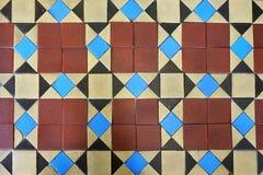 Εκλεκτής ποιότητας αφηρημένο υπόβαθρο κεραμιδιών πατωμάτων Στοκ Εικόνες