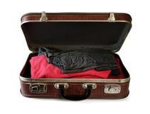 Εκλεκτής ποιότητας βαλίτσα Στοκ φωτογραφίες με δικαίωμα ελεύθερης χρήσης