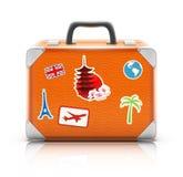 Εκλεκτής ποιότητας βαλίτσα Στοκ Φωτογραφίες
