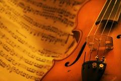 εκλεκτής ποιότητας βιολί Στοκ Εικόνες