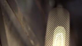 Εκλεκτής ποιότητας βιομηχανικός λαμπτήρας απόθεμα βίντεο