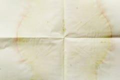 Εκλεκτής ποιότητας βρώμικο έγγραφο Στοκ εικόνες με δικαίωμα ελεύθερης χρήσης