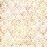 Εκλεκτής ποιότητας βρώμικο damask που επαναλαμβάνει το πρότυπο Στοκ Φωτογραφία