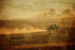 Εκλεκτής ποιότητας γεωργικό υπόβαθρο Στοκ εικόνα με δικαίωμα ελεύθερης χρήσης