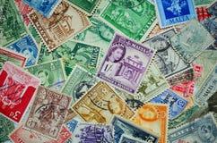 Εκλεκτής ποιότητας γραμματόσημα της Μάλτας Στοκ Εικόνες