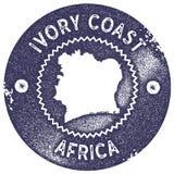 Εκλεκτής ποιότητας γραμματόσημο χαρτών της Ακτής του Ελεφαντοστού απεικόνιση αποθεμάτων