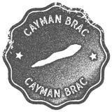 Εκλεκτής ποιότητας γραμματόσημο χαρτών Brac Cayman απεικόνιση αποθεμάτων