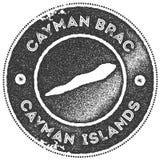 Εκλεκτής ποιότητας γραμματόσημο χαρτών Brac Cayman ελεύθερη απεικόνιση δικαιώματος