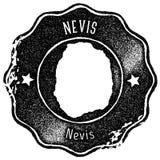 Εκλεκτής ποιότητας γραμματόσημο χαρτών Nevis ελεύθερη απεικόνιση δικαιώματος