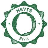 Εκλεκτής ποιότητας γραμματόσημο χαρτών Nevis απεικόνιση αποθεμάτων