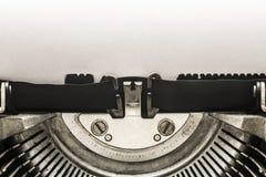 Εκλεκτής ποιότητας γραφομηχανή με το διάστημα αντιγράφων Στοκ Εικόνες