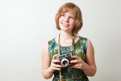 εκλεκτής ποιότητας γυν&alp Στοκ φωτογραφία με δικαίωμα ελεύθερης χρήσης
