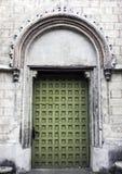 Εκλεκτής ποιότητας δευτερεύουσα είσοδος στην εκκλησία του ST James ο απόστολος στο Τορούν στοκ φωτογραφίες