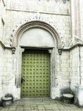 Εκλεκτής ποιότητας δευτερεύουσα είσοδος στην εκκλησία του ST James ο απόστολος στο Τορούν στοκ φωτογραφίες με δικαίωμα ελεύθερης χρήσης