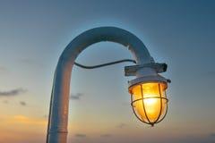 Εκλεκτής ποιότητας διακόσμηση ηλιοβασιλέματος σκαφών λαμπτήρων, διακοσμητική, ηλεκτρική ενέργεια, αναδρομική, υπόβαθρο, αντίκα, Στοκ εικόνες με δικαίωμα ελεύθερης χρήσης