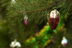Εκλεκτής ποιότητας διακόσμηση Χριστουγέννων - φρούτα πάπρικας πιπεριών Στοκ φωτογραφία με δικαίωμα ελεύθερης χρήσης