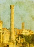 Εκλεκτής ποιότητας εικόνα των ρωμαϊκών καταστροφών Στοκ φωτογραφία με δικαίωμα ελεύθερης χρήσης