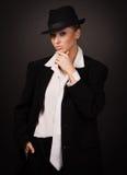 Εκλεκτής ποιότητας ενήλικη γυναίκα Στοκ Εικόνες