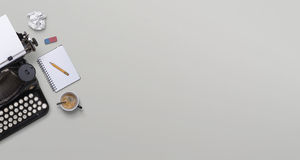 Εκλεκτής ποιότητας επιγραφή γραφομηχανών Στοκ Εικόνες
