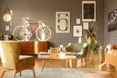 Εκλεκτής ποιότητας εσωτερικό καθιστικών Στοκ Εικόνες