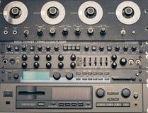 Εκλεκτής ποιότητας ηχητικός εξοπλισμός Στοκ φωτογραφίες με δικαίωμα ελεύθερης χρήσης