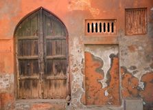 Εκλεκτής ποιότητας ινδική πόρτα στοκ εικόνες