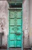 Εκλεκτής ποιότητας ινδική πόρτα στοκ φωτογραφία