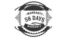 εκλεκτής ποιότητας, καλύτερη συλλογή γραμματοσήμων σχεδίου εξουσιοδότησης 58 ημερών απεικόνιση αποθεμάτων