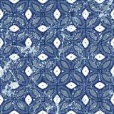 Εκλεκτής ποιότητας κεραμίδια με τη γεωμετρική διακόσμηση Στοκ Φωτογραφίες