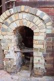 Εκλεκτής ποιότητας κλίβανος αγγειοπλαστικής τούβλου στοκ φωτογραφία με δικαίωμα ελεύθερης χρήσης