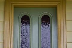 Εκλεκτής ποιότητας κορυφή πορτών σπιτιών Στοκ εικόνα με δικαίωμα ελεύθερης χρήσης