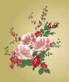 Εκλεκτής ποιότητας λουλούδια Στοκ φωτογραφία με δικαίωμα ελεύθερης χρήσης