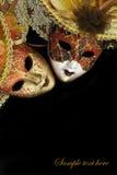 Εκλεκτής ποιότητας μάσκες καρναβαλιού Στοκ εικόνες με δικαίωμα ελεύθερης χρήσης