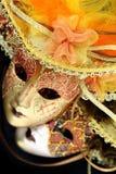Εκλεκτής ποιότητας μάσκες καρναβαλιού Στοκ Εικόνα