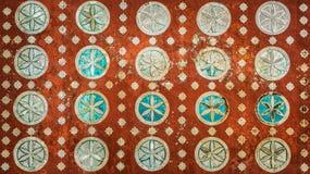 Εκλεκτής ποιότητας μεξικάνικο σχέδιο, ιδιαίτερα λεπτομερές αποικιακό backgrou ύφους Στοκ φωτογραφία με δικαίωμα ελεύθερης χρήσης