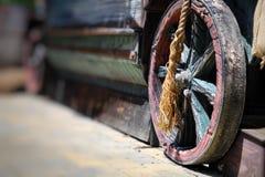 Εκλεκτής ποιότητας μεταφορά κάρρων αλόγων Στοκ εικόνα με δικαίωμα ελεύθερης χρήσης