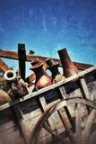 Εκλεκτής ποιότητας μεταφορά κάρρων αλόγων Στοκ Εικόνα