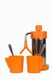 Εκλεκτής ποιότητας μηχανή espresso Στοκ Φωτογραφίες
