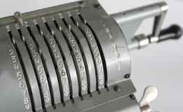 Εκλεκτής ποιότητας μηχανικό arithmometer Στοκ φωτογραφία με δικαίωμα ελεύθερης χρήσης