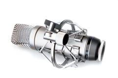Εκλεκτής ποιότητας μικρόφωνο στοκ εικόνες